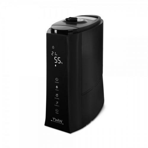 Zvlhčovač vzduchu Airbi TWIN black spredu zboku 2